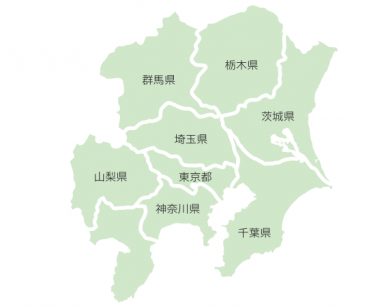 東京ガスの電力供給エリア