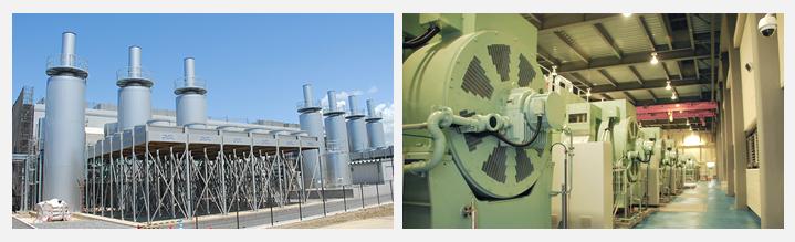 日本テクノの発電施設「袖ケ浦グリーンパワー」