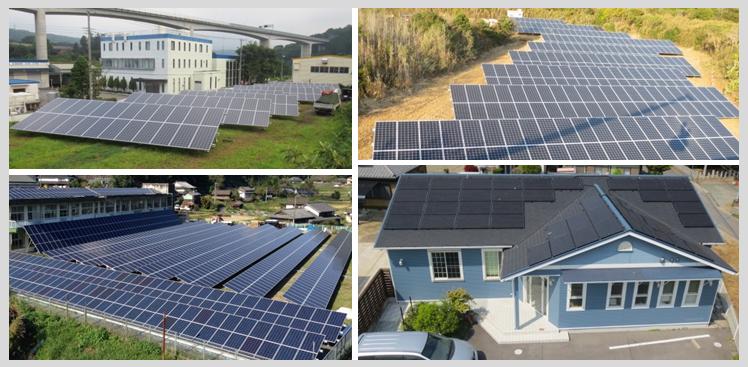 エヌパワーの太陽光発電事業の実績