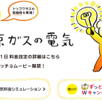 東京ガスの電気料金プラン「ずっともプラン」を比較してみた